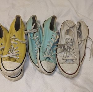 Bundle of 3 Converse All Stars